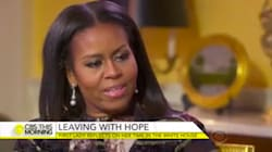 Michelle Obama demande