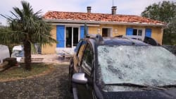 Pare-brises explosés, toitures arrachées... les dégâts impressionnants après les orages en