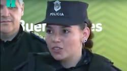 Policía en servicio en hospital de Argentina amamanta a bebé