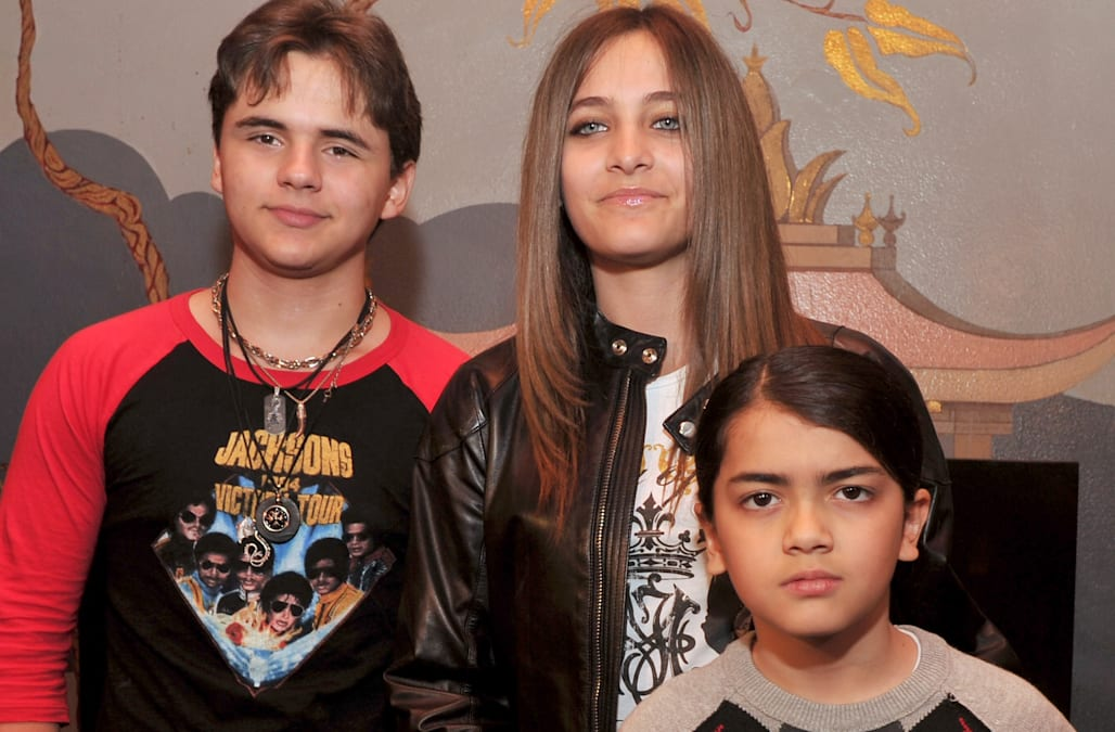 Prince Jackson gives rare glimpse at brother, Blanket, 17