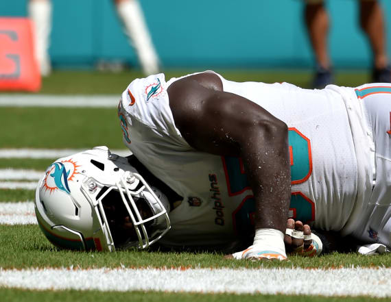 Dolphins coach blames new rule for player's ACL tear