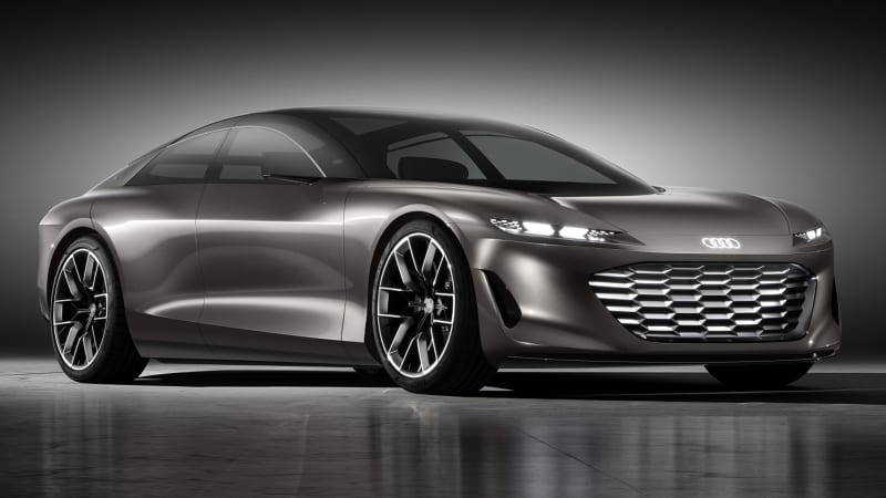 Audi s GrandSphere concept was designed as a road-going private jet