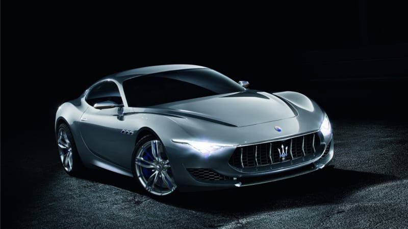 Maserati S Long Delayed Flagship The Alfieri Sports Car Will Go Electric Offering Hybrid Plug In And Full Versions Pa Company Fca