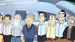 AMLO te explica con caricaturitas el Tren