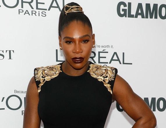 Serena Williams surprises 'Black Panther' screening