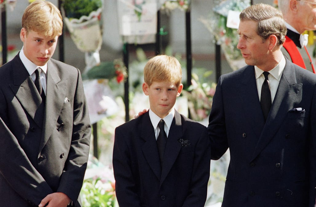 Prince Harry on Diana: No child should have to walk behind ...