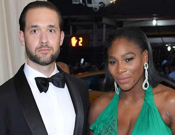 See the first photos from Serena Williams' wedding!