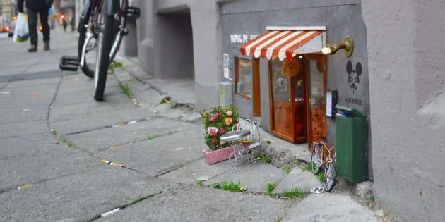 Une boutique pour souris en Suède.