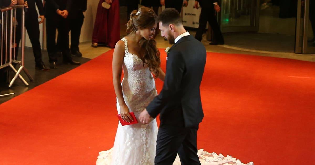 Vestido de novia mujer messi