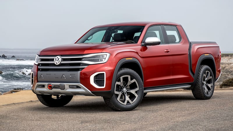 2020 Volkswagen Atlas Pickup Truck Redesign, Specs, And Price >> Vw Tanoak Concept Truck Road Test Review Autoblog