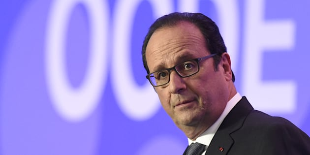 François Hollande en 2015. (Alain Jocard/Pool Photo via AP)