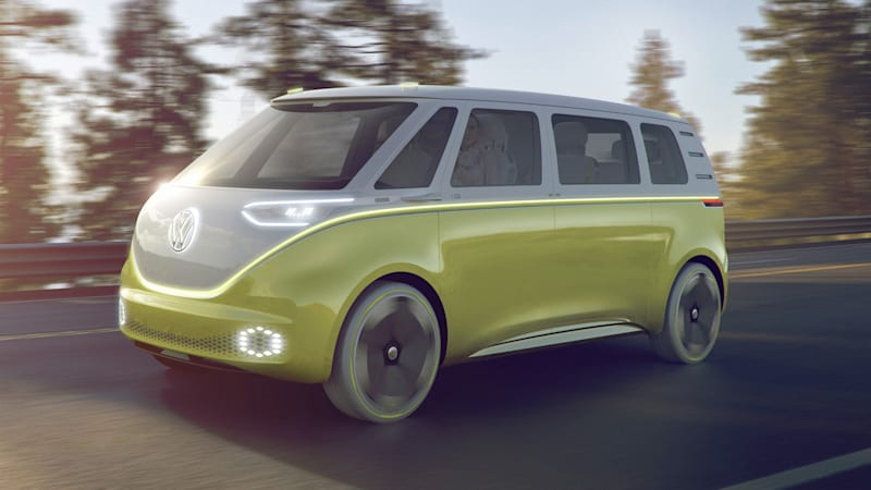 VW I.D. Buzz electric microbus could launch in 2022