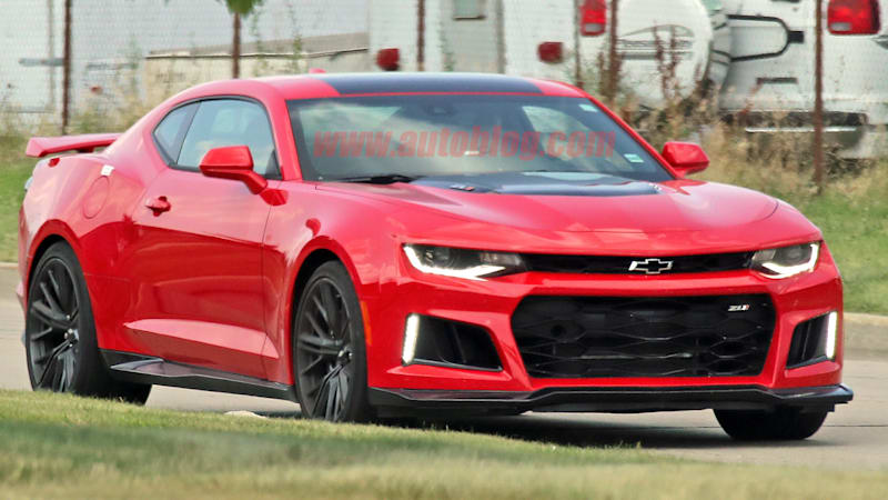 2019 Chevy Camaro ZL1 only looks different from the back