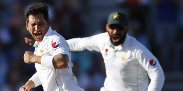 Yasir, Yasir, three bags full of wickets.