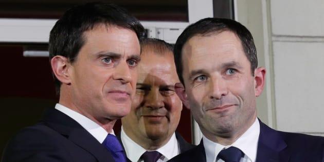 Au second tour, Benoît Hamon soutient la candidate Insoumise contre Manuel Valls.