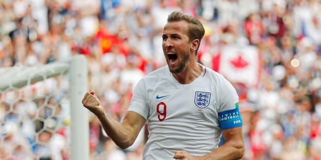Harry Kane marcou três gols contra o Panamá e assumiu artilharia da Copa.