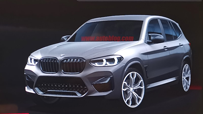 2020 Bmw X3 M Revealed In Infotainment Screen Autoblog