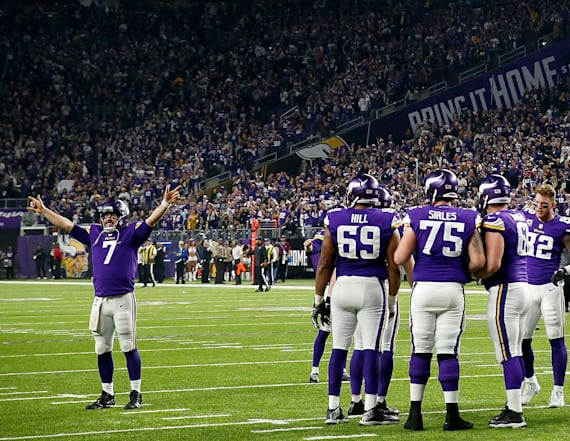 Gamblers rejoice over meaningless Vikings play