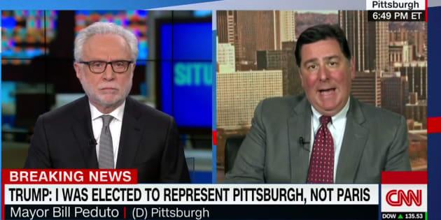 La réponse cinglante du maire de Pittsburgh à Trump qui cite la ville pour justifier sa décision