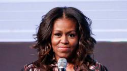 Cette petite fille s'est déguisée en Michelle Obama pour l'école, et Michelle a