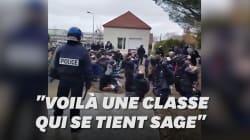 À Mantes-la-Jolie, des images des jeunes interpellés par les