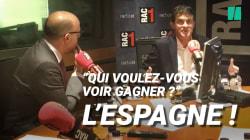 Valls préférerait que l'Espagne gagne face à la France en finale de Coupe du