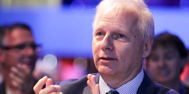 Pierre Karl Péladeau n'écarte pas un retour en politique