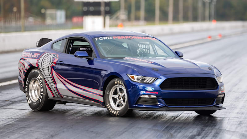 Mustang Cobra Jet >> 2016 Ford Mustang Cobra Jet Runs An Eight Second Quarter Mile W