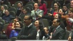 "VIDEO: Diputadas priistas al estilo Estado Azteca gritan ""Ehh…¡p*****to!"" durante"