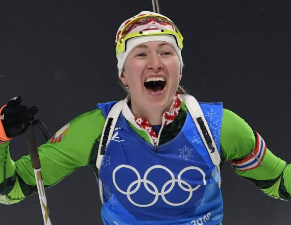 Dominant Olympic biathlete is a former KGB agent