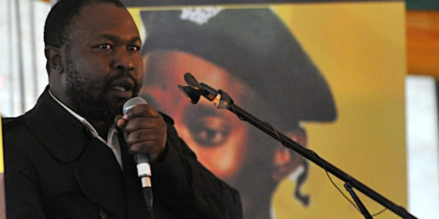 Sindiso Magaqa was shot to death in his car.