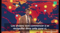 Brad Pitt présente la météo qui nous