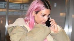 How To Get Pastel Pink Hair Like Kim Kardashian's New