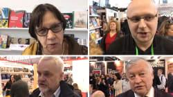 Au Salon du livre, les Russes trouvent la démarche de Macron