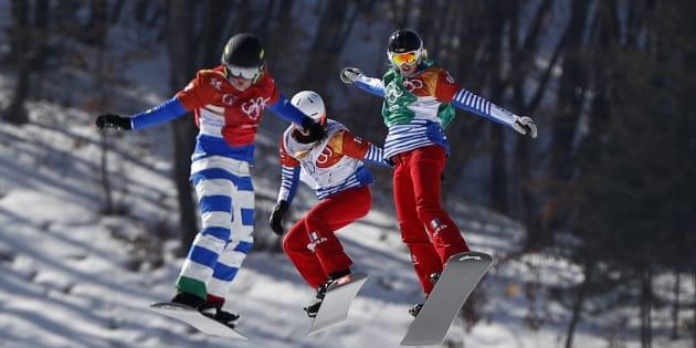 Jeux olympiques d'hiver 2018: Julia Pereira de Sousa en argent à 16 ans sur le snowboardcross, 7e médaille française