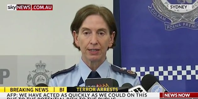 NSW Deputy Police Commissioner Catherine Burn said foreign fighters had an 'intent to kill'.