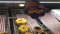 Tim Hortons célèbre Pâques avec un beigne spécial... aux Mini