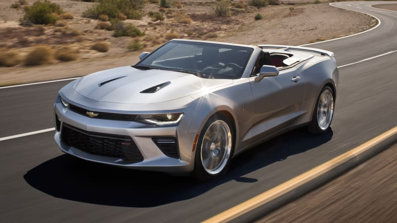 2016 Chevy Camaro Convertible Gets Cleaner Looks Improved