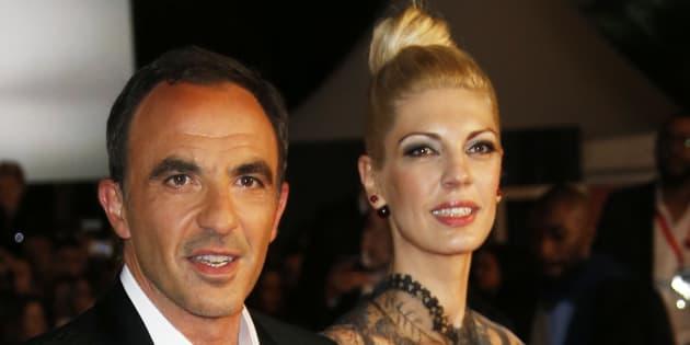 Nikos Aliagas et Tina Grigoriou aux NRJ Music Awards en 2014