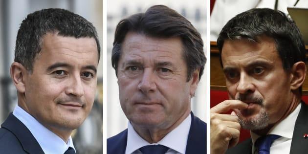 Manuel Valls, Christian Estrosi et Gérald Darmanin ont d'ores et déjà exclu de rejoindre le ministère de l'Intérieur.