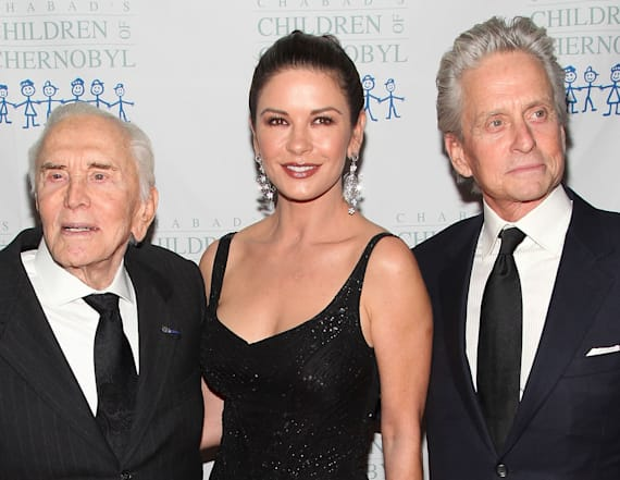 Kirk Douglas celebrates 101st birthday
