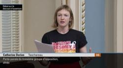 BLOGUE Catherine Dorion: jouer à l'autruche, un t-shirt à la