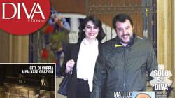 Elisa Isoardi esce dall'ombra. Salvini la porta da Berlusconi, a Palazzo