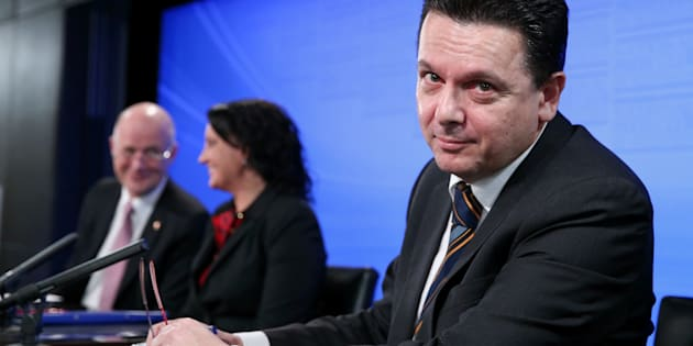 Nick Xenophon is standing aside from federal parliament.
