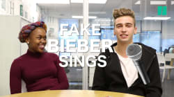 We Got Fake Justin Bieber To Sing For Us And It's