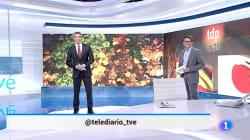 La llamativa forma en la que ha terminado el Telediario de TVE y que no habíamos visto