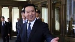 La esposa del jefe de Interpol detenido en China: