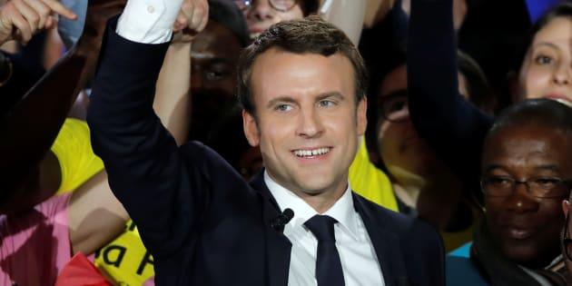 Pour l'égalité des droits, un seul bulletin de vote le 7 mai 2017, Emmanuel Macron