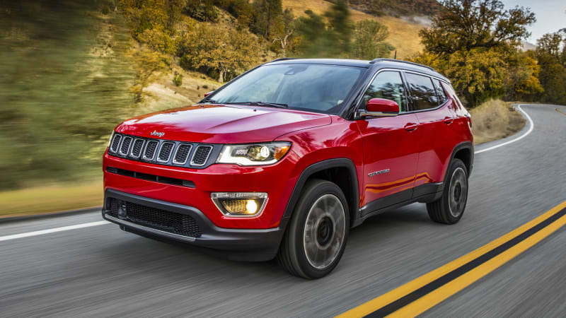 Stepping On The Cherokee 39 S Toes 2017 Jeep Compass First Drive Autoblog