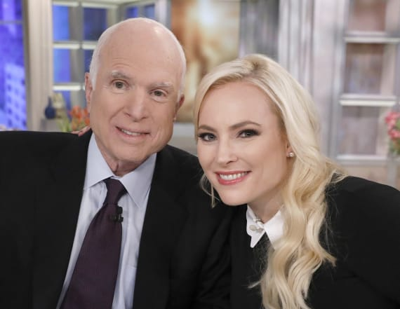 Meghan McCain slams Trump's attack on father John
